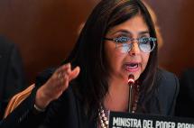 Canciller venezolana acusa al jefe de la OEA de