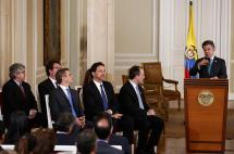 Presidente Santos reconoció que modelo de 'superministros' fracasó