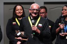 Rubén Darío Cárdenas, ganador del premio 'Compartir al Rector'