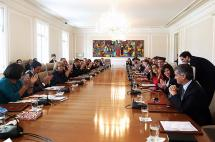 Gabinete presidencial ya trabaja en la campaña del plebiscito de la paz