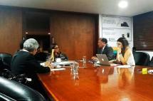 El 'agarrón' entre Parody y procuradora Hoyos por veto en reunión sobre alimentación escolar