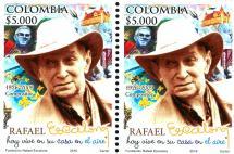 Así luce la estampilla en homenaje al compositor Rafael Escalona