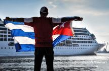 En video: las primeras impresiones tras la llegada de crucero estadounidense a Cuba