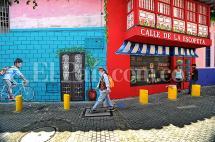 Los murales que le cambiaron la cara a la Calle de La Escopeta