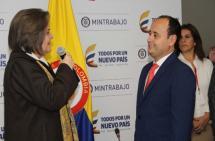 El vallecaucano Francisco Mejía se posesionó como viceministro de Empleo y Pensiones