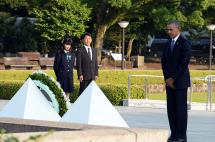 Obama pide un mundo sin armas nucleares durante homenaje a víctimas de Hiroshima
