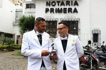 Esta es la historia de la pareja que celebró el primer matrimonio igualitario en Cali