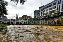 Se mantienen las alertas por posibles inundaciones y crecientes súbitas en el país