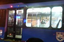 Bus del MÍO fue atacado este lunes por hinchas del América de Cali