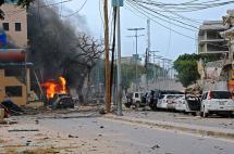 Ataque islamista a hotel de Somalia deja al menos 11 muertos