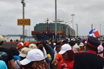 Inauguran el renovado y ampliado Canal de Panamá