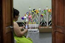 En fotos: Ellas 'endulzan' los días de los caleños con sus tradicionales macetas