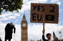 Más de dos millones de personas en Reino Unido piden nuevo referendo sobre Unión Europea