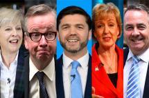 Los candidatos a suceder a David Cameron al frente del gobierno británico