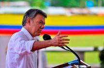 Presidente Santos dice que con la paz el turismo del país desarrollará su potencial