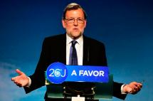En video: Rajoy reclamó el