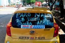 Taxistas dicen que transporte ilegal les quita entre el 40 y 50% del mercado en Cali