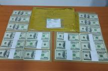 Capturan en Palmira a ciudadano costarricense con US$10 mil falsos