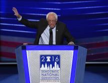 Sanders apoya candidatura de Clinton con llamado a la unión del partido