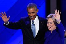 Obama elogia capacidad de Clinton y critica ásperamente a Trump