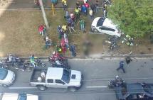 Un presunto ladrón muerto y otro lesionado dejó atraco en el sur de Cali