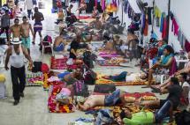 Policía ingresará a bodega de Turbo para verificar estado de migrantes cubanos