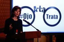 Lanzan campaña para que colombianos en el exterior echen 'ojo a la trata' de personas