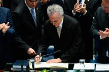 Michel Temer asumió presidencia de Brasil tras destitución de Dilma Rousseff