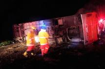 Cinco muertos dejó accidente de bus que cubría ruta Pereira - Bogotá