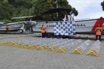 Autoridades incautan más de dos toneladas de cocaína en el Pacífico