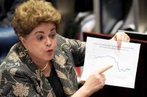 '¿Fora Dilma?', Rousseff espera histórico veredicto del Senado de Brasil