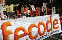 Fecode anuncia apoyo de maestros del país al Sí en el plebiscito
