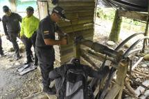 Destruyen 15 minas de oro durante operativo en la vía al mar