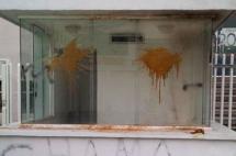 Encapuchados lanzan bombas incendiarias contra diario El Nacional en Caracas