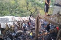 30 viviendas afectadas y 4 heridos deja incendio en la ladera de Cali