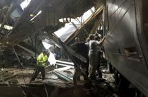 Confirman un muerto en choque de tren en Nueva Jersey, EE.UU.