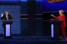 Los puntos curiosos y candentes del debate entre Hillary Clinton y Donald Trump