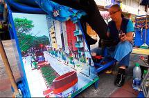 Video: las bellas postales que destacan el oficio de los lustrabotas de Cali