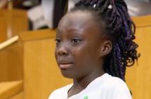 Zianna Oliphant, la niña que se convirtió en la vocera de los afro en Estados Unidos