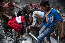 El ejército sirio logra tomar el control en barrios rebeldes de Alepo tras los bombardeos