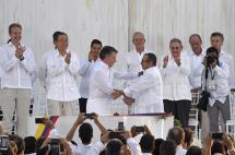 Colombia y el proceso de paz, entre los favoritos para el premio Nobel