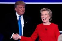 Apretada victoria de Clinton sobre Trump en agitado primer debate presidencial en EE.UU.
