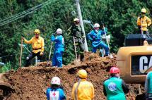 Suspenden temporalmente explotación de canteras en zona de derrumbe en Antioquia