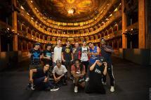 Tres bailarines caleños, en la apertura de cumbre de jefes de Estado en Cartagena