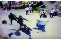 En video: fuerte pelea en la Terminal de Transporte de cali