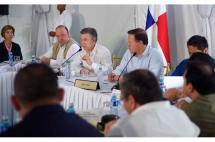 Presidente de Panamá ratificó su apoyo al proceso de paz y a los diálogos con ELN