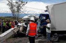 Cinco personas fallecieron en un grave accidente de tránsito en el Huila