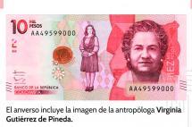 Ya entró en circulación el nuevo billete de $10.000 en Colombia
