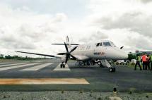 Avión de Easy Fly sufrió incidente en pista del aeropuerto de Quibdó