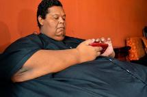 Murió en Palmira Óscar Vásquez, el hombre más obeso de Colombia